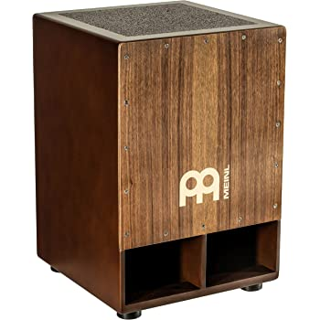 Meinl Jumbo Bass Subwoofer Cajon with Internal Snares - NOT MADE IN CHINA - Walnut Playing Surface, 2-YEAR WARRANTY (SUBCAJ5WN)