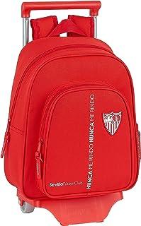 Mochila Safta Infantil de Sevilla FC Corporativa con Carro Safta 705, 280x100x340mm