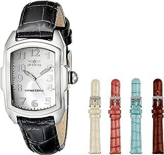 Invicta Women's ILE5168A Lupah Analog Display Swiss Quartz Black Watch