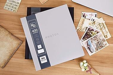 "Kiera Grace PH43914-7 Contemporary photo-albums, 4"" x 6"", Grey"