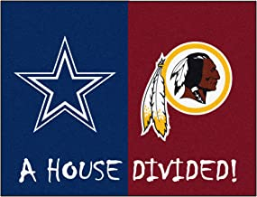 FANMATS NFL House Divided Nylon Face House Divided Rug (10307)