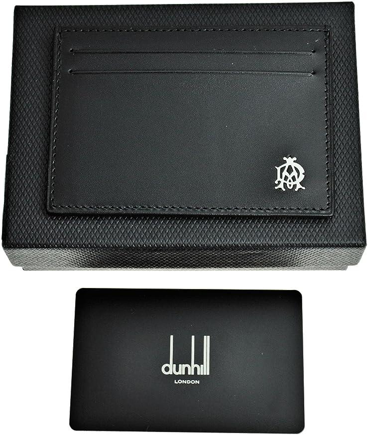 うがい薬略す分割DUNHILL 【ダンヒル】 カードケース 名刺入れ L2R340A WESSEX ブラック BLACK