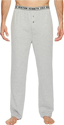 Kenneth Cole Reaction - Open Leg Waffle Pants Single