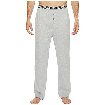 Kenneth Cole Reaction Open Leg Waffle Pants Single (Light Grey Heather) Men