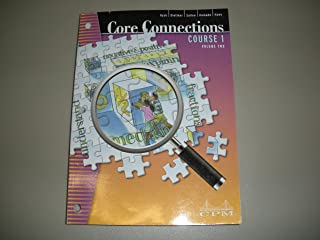 Core Connections, Course 1, Second Edition, Volume 2