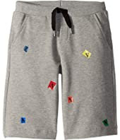Lanvin Kids - Letters Bermuda (Little Kids/Big Kids)
