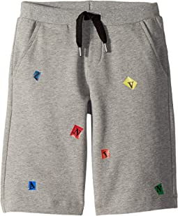 Lanvin Kids Letters Bermuda (Little Kids/Big Kids)