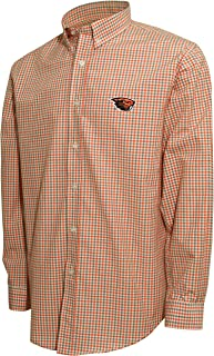تي شيرت رجالي Crable Mens Ncaa Camus Specialties Ls Small Check Shirt Ncaa Men's Campus Specialties Ls Small Check Shirt