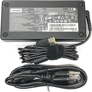 Lenovo 20V 8.5A 170W Slim Tip AC Adapter For Lenovo ThinkPad W540 W550s P50 P50S P70 E440 E450 E555 S431 T440 T540p X240 X250 Yoga 15;Legion Y720 Ideapad Y720-15IKB ADL170NLC2A ADL170NDC2A ADL170NLC3A