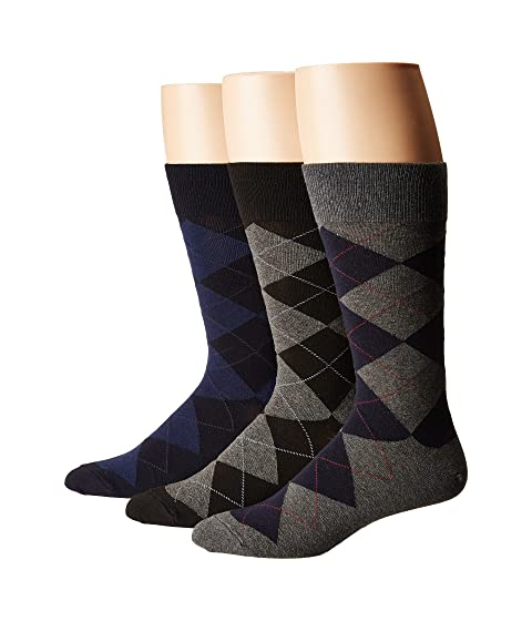 Polo Ralph Lauren 3-Pack Classic Argyle Cotton Blend with Polo Logo Knit In On Sole Charcoal Assorted Cheap Really Cheap Real Authentic DlQfoMe