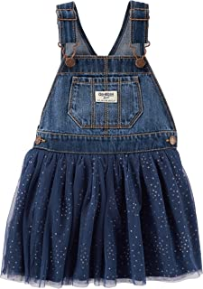 OshKosh B'Gosh Girls' Toddler World's Best Overalls