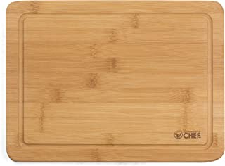 Cutting Board by Commercial Chef- Premium Chopping Board- Kitchen Cutlery and Charcuterie Station for Serving Meats, Chees...