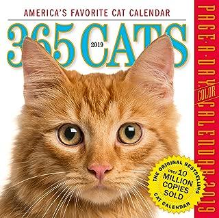 365 Cats Color Page-A-Day Desk Calendar 2019 [6