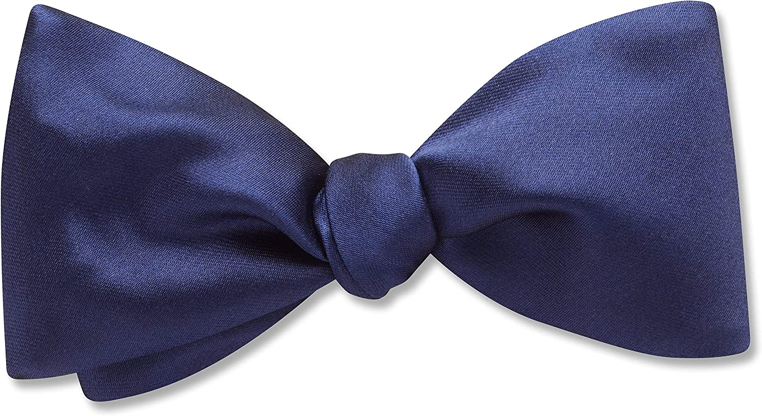Somerville Marina Blue Solid, Men's Bow Tie, Handmade in the USA