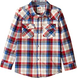 Barstow Western Plaid Shirt (Little Kids)