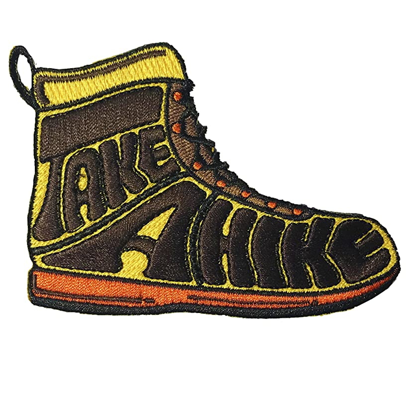 Take a Hike Iron-on Patch for Backpacks, Hats, Patches for Jackets