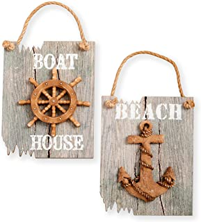 driftwood house signs