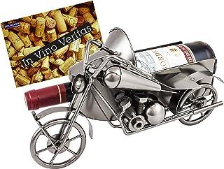 """Brubaker – Botella de vino titular """"Moto con sidec"""