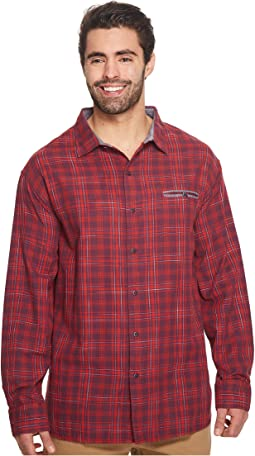 Tommy Bahama Big & Tall - Big & Tall Plaid Whiskey Shirt