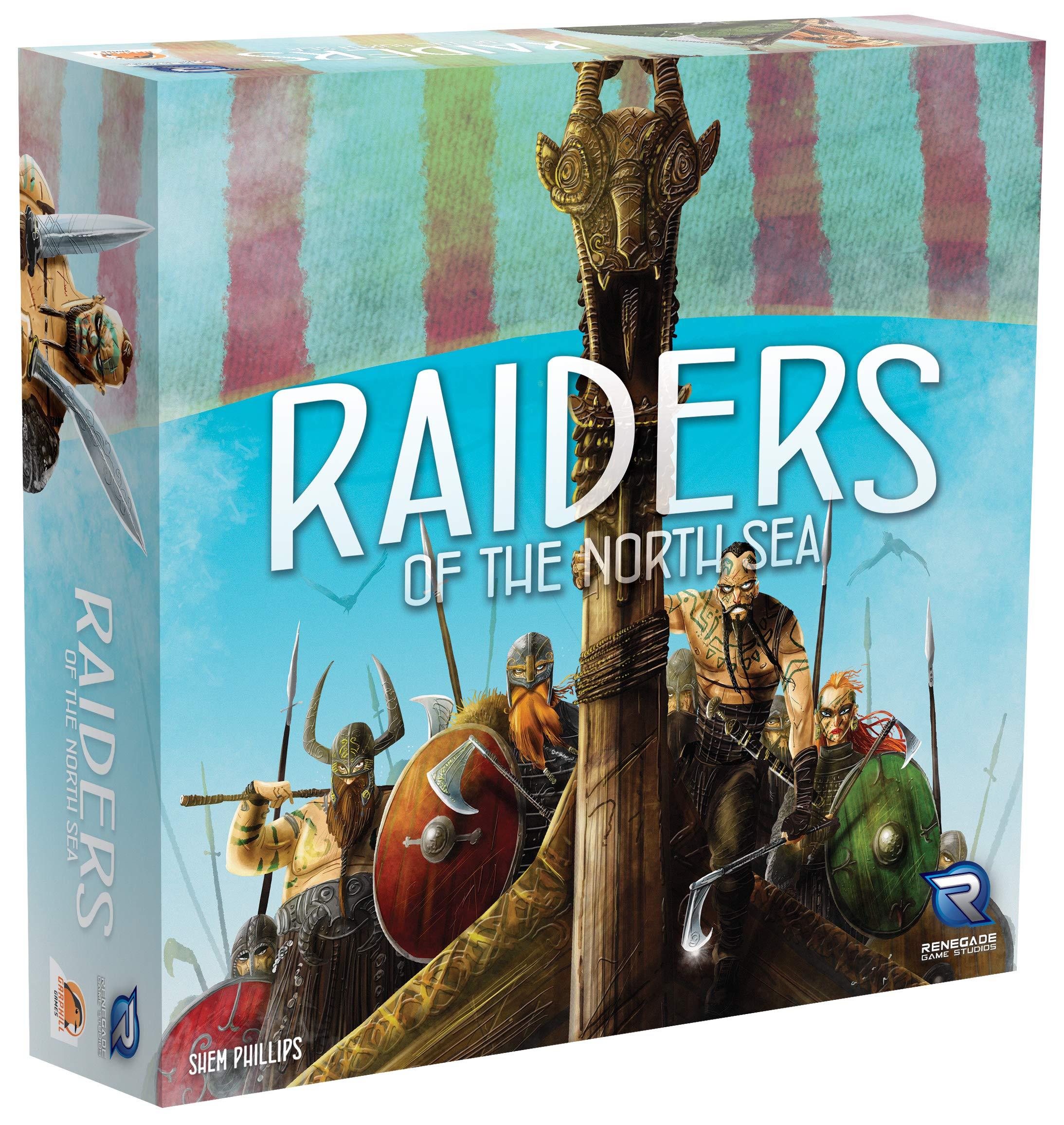 Renegade Game Studios RGS00585 Raiders of The North Sea - Juego de Mesa (Contenido en alemán): Amazon.es: Juguetes y juegos