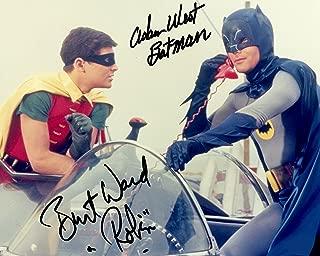 Batman & Robin Adam West Burt Ward reprint signed 11x14 poster photo #4 RP