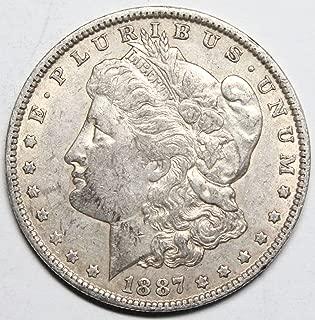 1887 silver dollar o