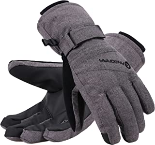 Andorra Women's Thinsulate Insulated Waterproof Touchscreen Ski Gloves