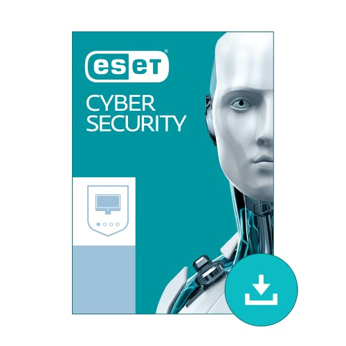 ESET Cyber Security - Basic Antivirus for Mac 2019 | 1 Device & 1 Year | Official Download with License