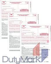 1096 Transmittal/Summary Laser Tax Form -25 Pack- 2019 (1096 only) - Great for QuickBooks and Accounting Software