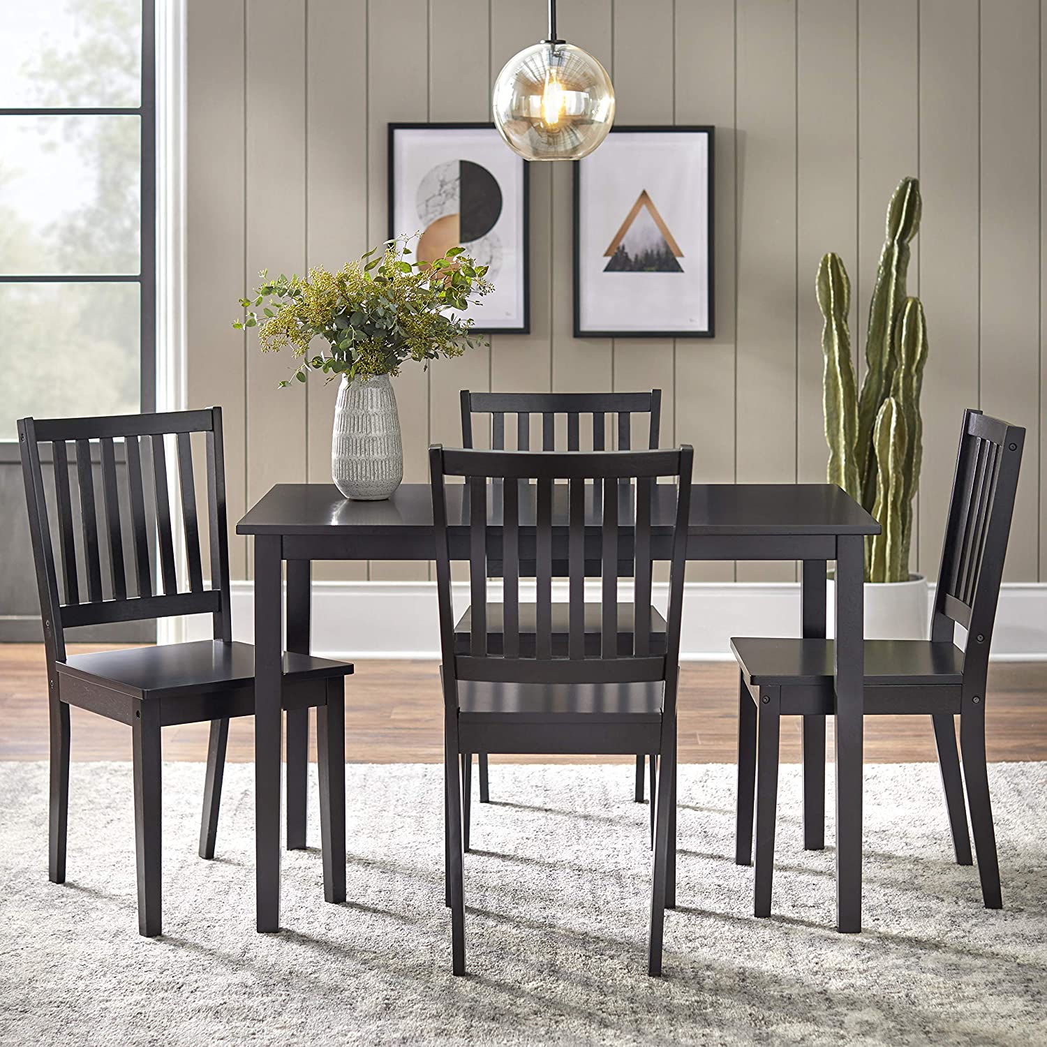 Buy Target Marketing Systems 9 Piece Shaker Dining Set with 9 Slat ...