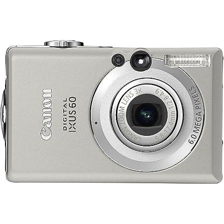 Canon Ixus 60 Digital Camera Silver 2 5 Lcd Camera Photo