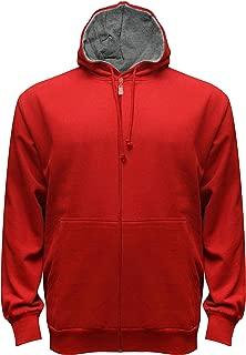 Russell Athletic Men's Big & Tall Fleece Zip-Front Hoodie