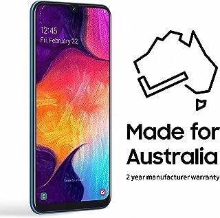 Samsung Galaxy A50 64GB Smartphone (Australian Version), Blue