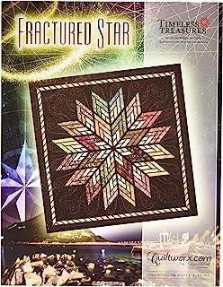 Fractured Star Foundation Paper Piece Judy Niemeyer Quilt Pattern