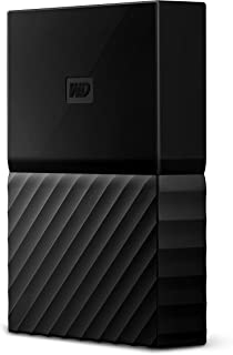 ويسترن ديجيتال قرص صلب 2 تيرابايت خارجي - WDBLPG0020BBK-WESE