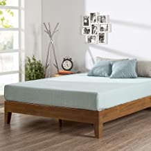 ZINUS Alexis Deluxe Wood Platform Bed Frame / Solid Wood Foundation / No Box Spring..