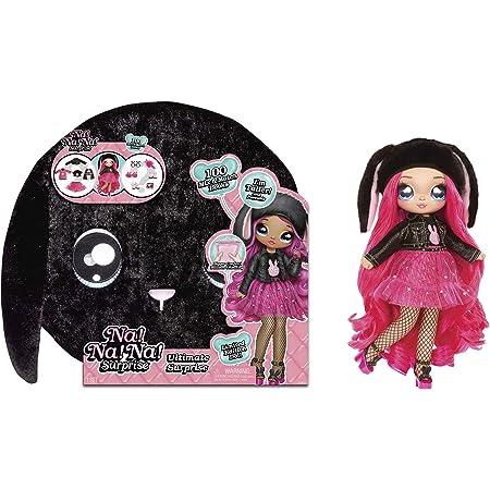 Na Na Na Surprise Ultime- Nouveauté Poupée Mannequin inclus avec cheveux brossable, Créateur de Vêtements & Accessories - Black Bunny