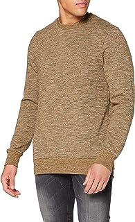 Scotch & Soda Men's Crewneck Sweat in Multicolour Melange Felpa Sweatshirt