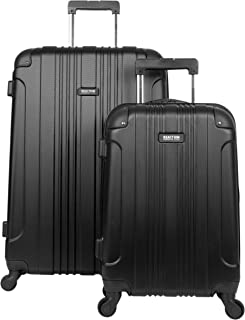 Out Of Bounds 2-Piece Lightweight Hardside 4-Wheel Spinner Luggage Set: 20