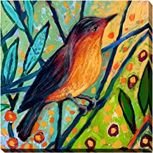 "Picture Perfect International Giclee Stretched Wall Art by Jennifer Lommers Bird II Artists-Canvas 18"" x 18"" x 1"""
