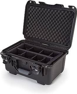 Nanuk 918 Waterproof Hard Case with Padded Dividers - Black
