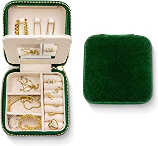 Benevolence LA Travel Jewelry box | Jewelry Storage and Organizer | Jewelry box for women | Rings, Necklaces and Earrings ...