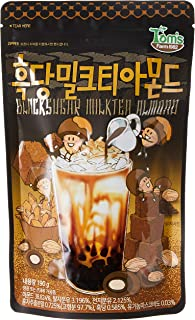 Tom's Farm Black Sugar Milktea Almond, 200g