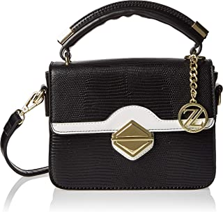 Zeneve London Crossbody Bag For Women, Black, 119844400010