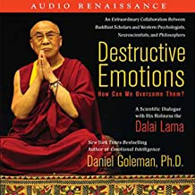 destructive emotions audiobook