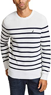 Long Sleeve Striped Crew Neck Sweater