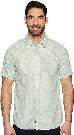 Quiksilver Waterman - Wake Plaid 2 Short Sleeve Shirt