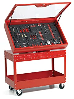 Williams WTC496CARTR 6S Visual Control Cart, Red