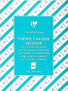 Clairefontaine 96509C - Une rame de Calque supérieur 500 feuilles 29,7x42 cm 90/95g