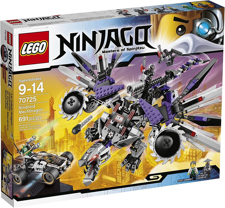 sin mínimo LEGO Ninjago Nindroid MechDragon MechDragon MechDragon Niño 691pieza(s) Juego de construcción - Juegos de construcción, 9 año(s), 691 Pieza(s), Niño, 14 año(s)  punto de venta